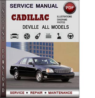 Owners Manual For 2000 Cadillac Deville