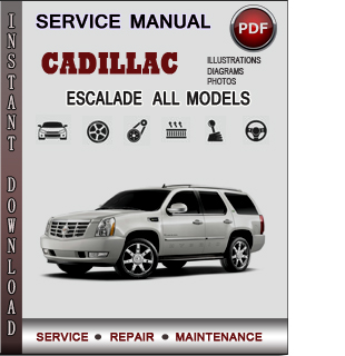 Cadillac Escalade manual pdf