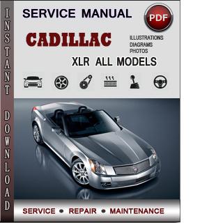 Cadillac XLR manual pdf