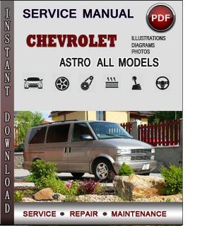 Chevrolet Astro manual pdf
