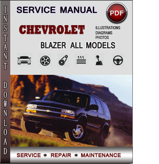Chevrolet Blazer manual pdf