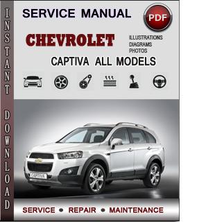 Chevrolet Captiva manual pdf