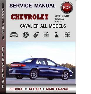 Chevrolet Cavalier manual pdf