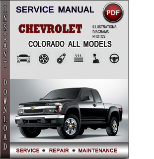 Chevrolet Colorado manual pdf