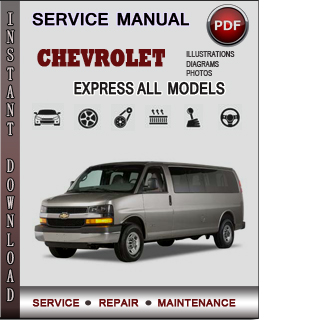 Chevrolet Express manual pdf