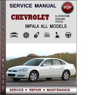 Chevrolet Impala manual pdf