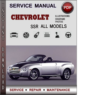 Chevrolet SSR manual pdf