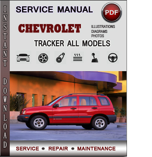 Chevrolet Tracker manual pdf