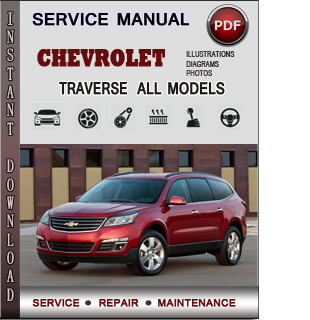 Chevrolet Traverse manual pdf