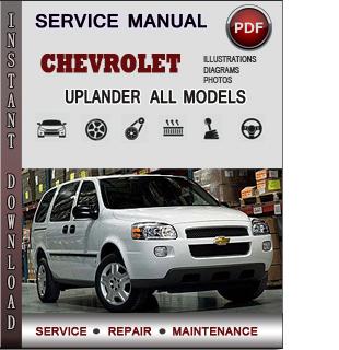 Chevrolet Uplander manual pdf