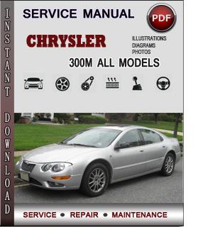 Chrysler 300M manual pdf