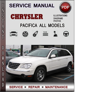 Chrysler Pacifica manual pdf