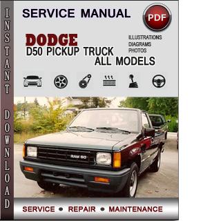 dodge D50 PICKUP TRUCK manual pdf
