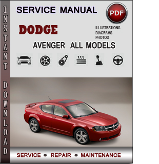 Dodge Avenger manual pdf