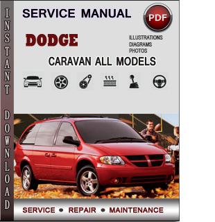 Dodge Caravan manual pdf