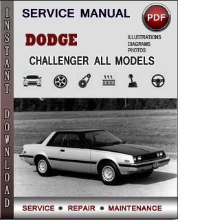 Dodge Challenger manual pdf