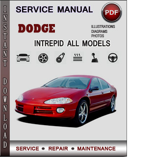 Dodge Intrepid manual pdf