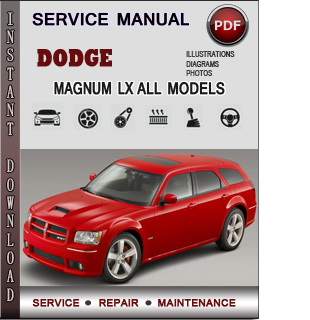 Dodge Magnum LX manual pdf