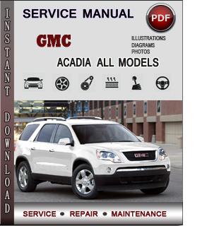 GMC Acadia manual pdf
