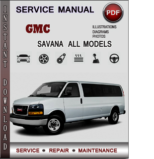 GMC Savana manual pdf