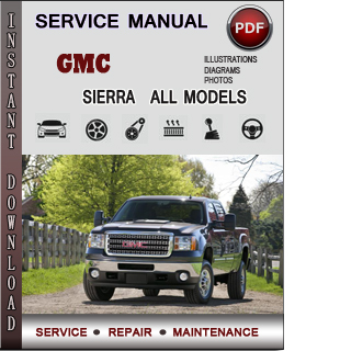 GMC Sierra manual pdf