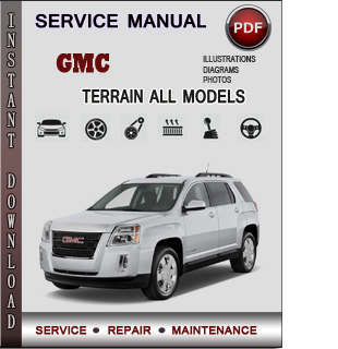 GMC Terrain manual pdf
