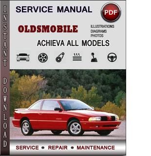 Oldsmobile Achieva manual pdf