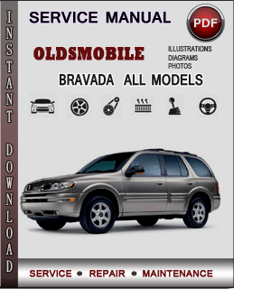 Oldsmobile Bravada manual pdf