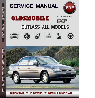 Oldsmobile Cutlass manual pdf