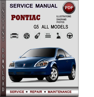 Pontiac G5 manual pdf