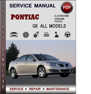 Pontiac G6 manual pdf