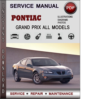 Pontiac Grand Prix manual pdf