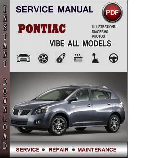 Pontiac Vibe manual pdf
