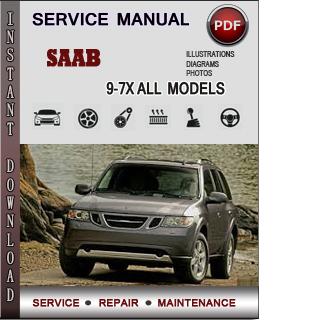 Saab 9-7X manual pdf