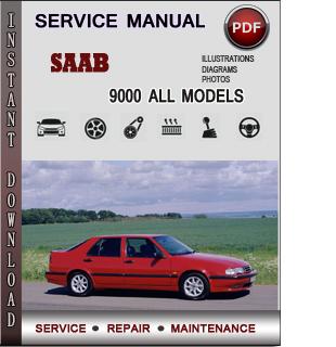 Saab 9000 Service Repair Manual Download - Info Service ...