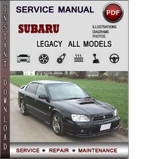 Subaru Legacy manual pdf