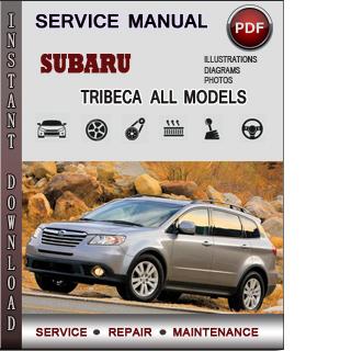 Subaru Tribeca manual pdf