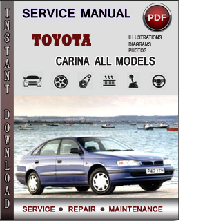 Toyota Carina manual pdf