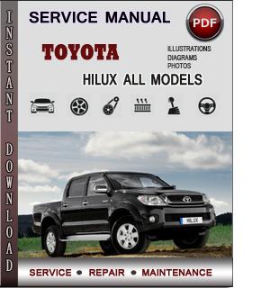 Toyota Hilux manual pdf