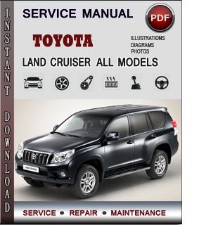 Toyota Land Cruiser manual pdf