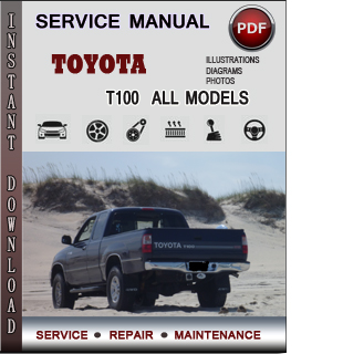 Toyota T100 manual pdf