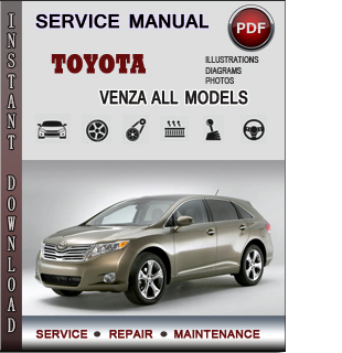 Toyota Venza manual pdf
