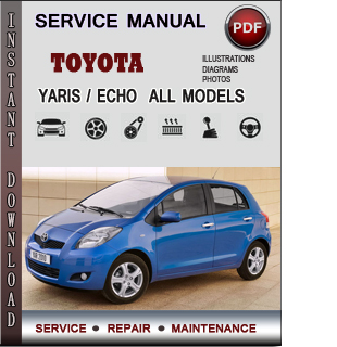 Toyota Yaris Echo manual pdf