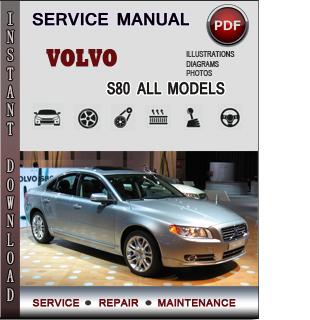 Volvo S80 manual pdf